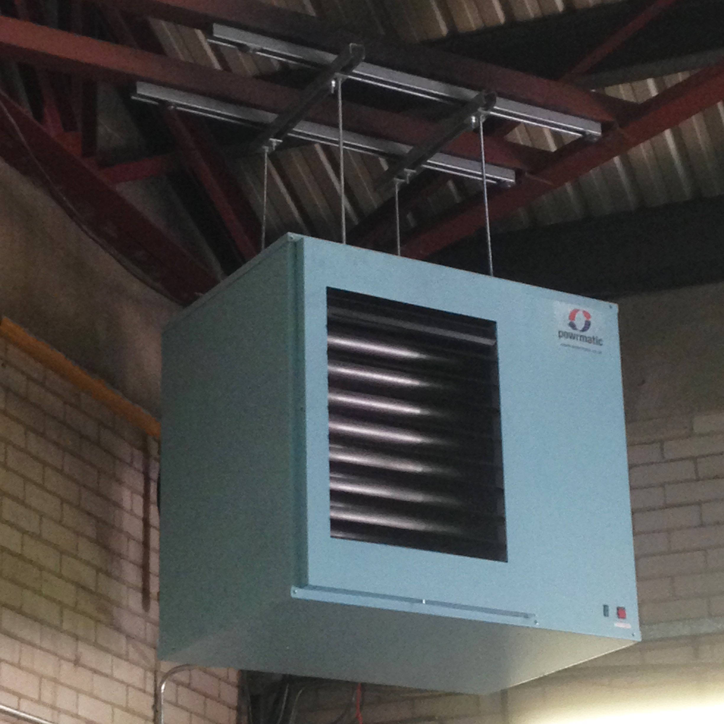 Warm air total heat systems for Hot air heating system